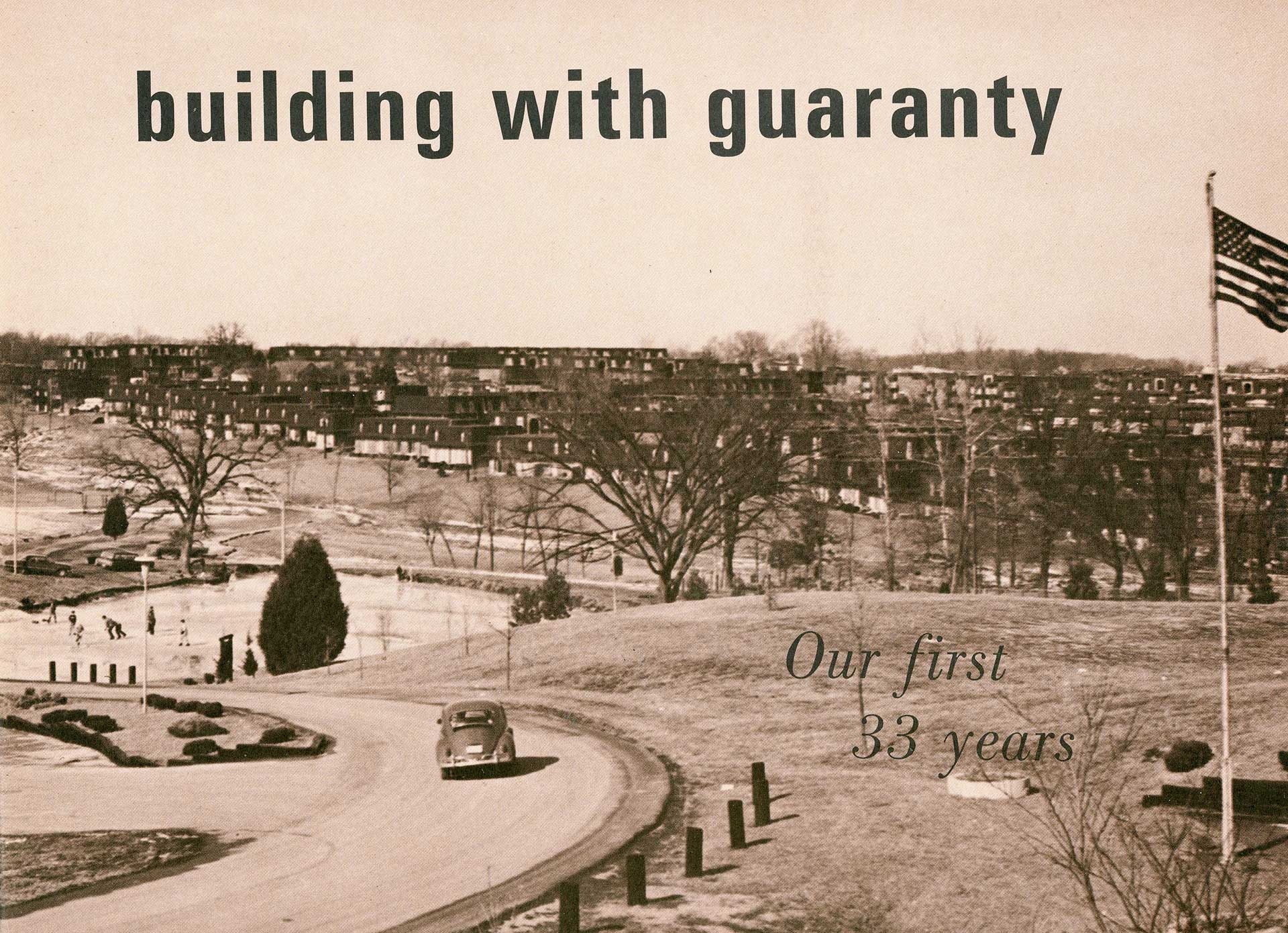 Building with Guaranty - Historical Title Insurance Advertising